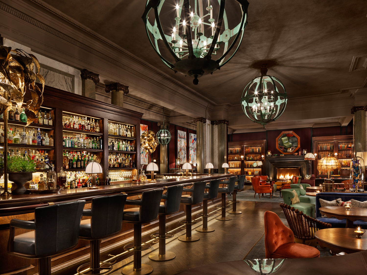 Luxury Escapes at Rosewood London Scarfes Bar - Lavish Hotels and Resorts
